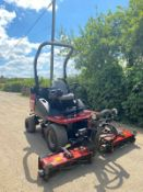 2010 TORO CT2140 RIDE ON LAWN MOWER, 4 WHEEL DRIVE, YEAR 2010, 3 CYLINDER KUBOTA DIESEL ENGINE