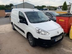 2013/13 REG PEUGEOT PARTNER HDI PROFESSIONAL L1 625 1.6 DIESEL WHITE PANEL VAN 75HP *NO VAT*