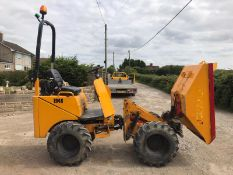 2013 THWAITES 1 TONNE STRAIGHT HI-TIP DUMPER, RUNS, DRIVES AND TIPS *PLUS VAT*