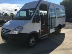 2008/58 REG IVECO DAILY 40C12 DISABLED ACCESS MINIBUS WITH POWER DOOR - 2.3 TURBO DIESEL *PLUS VAT*