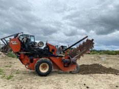 DITCH WITCH RT24 WALK BEHIND TRENCHER, YEAR 2012, IN GOOD CONDITION, RUNS, WORKS AND DIGS *PLUS VAT*