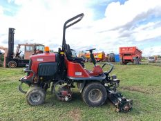 2012/12 REG TORO LT3240 RIDE ON DIESEL LAWNMOWER, 4 WHEEL DRIVE, RUNS, WORKS AND CUTS *PLUS VAT*