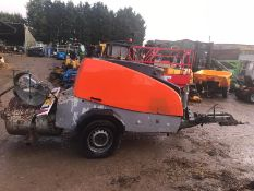 2008 BRINKMANN ESTRICH BOY 450 SINGLE AXLE CONCRETE PUMP *PLUS VAT*