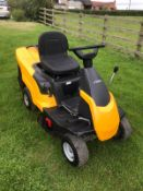 2015 STIGA COMBI 1066 HQ, RUNS, DRIVES AND CUTS, INCLUDING MULCHING KIT, INCLUDING BATTERY CHARGER
