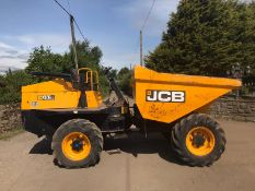 2015 JCB 6 TON DUMPER POWERSHUTTLE, SHOWING 1228 HOURS, RUNS, DRIVES, TIPS *PLUS VAT*