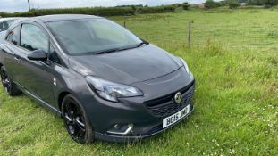 2015/15 REG VAUXHALL CORSA LIMITED EDITION 1.4 PETROL GREY 3DR HATCHBACK, SHOWING 2 FORMER KEEPERS