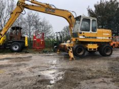 LIEBHERR A902 WHEELED EXCAVATOR SCRAP HANDLER, RUNS, WORKS AND LIFTS *PLUS VAT*
