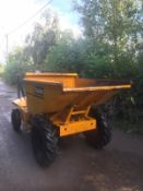 2002 THWAITES SLIMLINE STRAIGHT TIP DUMPER, RUNS, WORKS & TIPS, ALL WORKS, CLEAN MACHINE, 550 HOURS
