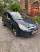 2009/09 REG VAUXHALL CORSA SXI CDTI AIR CONDITIONING BLUE 1.25 DIESEL 5 DOOR HATCHBACK *NO VAT*