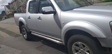 2007/57 REG FORD RANGER THUNDER DCB 4X4 3.0 AUTOMATIC SILVER PICK-UP 155 BHP *NO VAT*