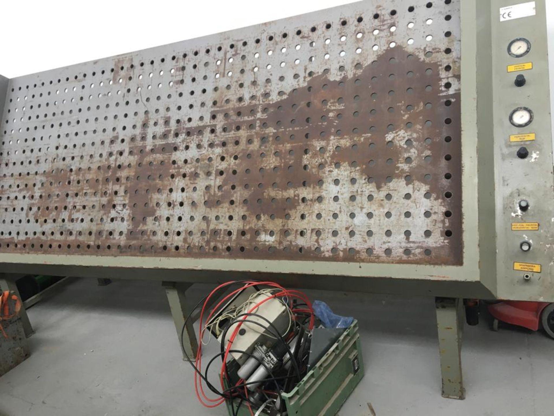 Lot 131 - RAMARCH FRAME CRAMPING MACHINE *PLUS VAT*