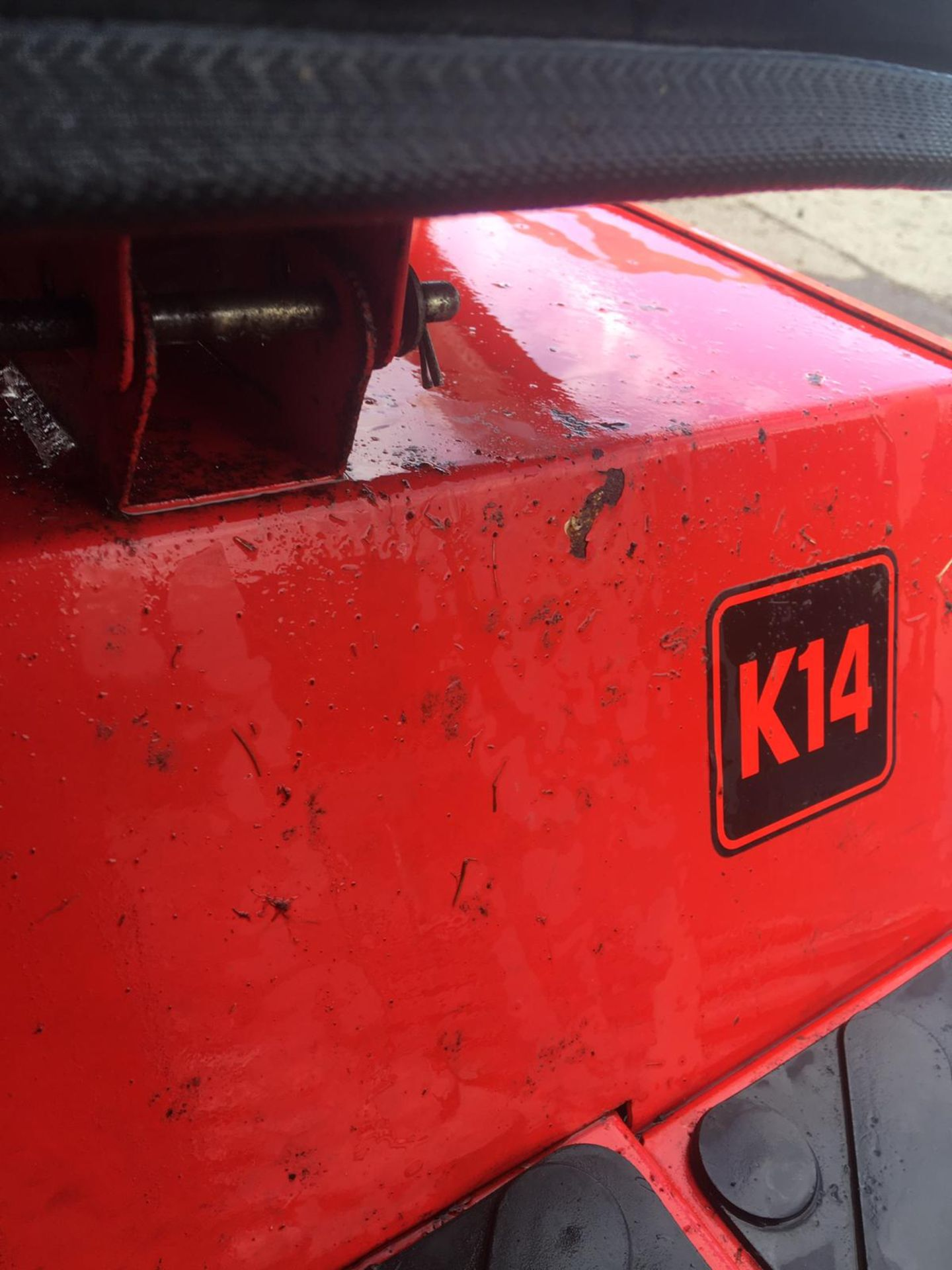 Lot 46 - COUNTAX K14 RIDE ON LAWN MOWER, VANGUARD 14HP ENGINE, STARTS, RUNS AND DRIVES *NO VAT*