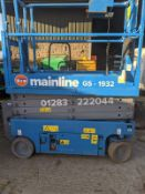 GENIE GS-1932 5.7M SCISSOR LIFT (SP), C/W LOLER TEST CERTIFICATE - FEB 2020, RUNS, WORKS, LIFTS