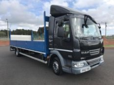 2013/13 REG DAF TRUCKS LF FA 45.210 12 TON ALLOY DROP SIDE TRUCK WITH TAIL LIFT 23FT AIR SUSPENSION