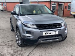 LAND ROVER RANGE ROVER EVOQUE DYNAMIC S, FORKLIFTS, 2020 BRAND NEW HUSQVARNA TC130 MOWER, NEW HOLLAND, 2015 TRANSIT TIPPER - ENDS 7PM TUESDAY