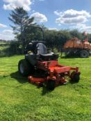 HUSQVARNA ZERO TURN RIDE ON LAWN MOWR, RUNS, WORKS AND CUTS, ONLY 900 HOURS FROM NEW *PLUS VAT*