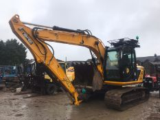 JCB JS145LC STEEL TRACKED CRAWLER EXCAVATOR / DIGGER, YEAR 2013, RUNS, DRIVES AND DIGS *PLUS VAT*
