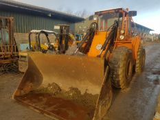 VOLVO BM4400 WITH BUCKET LOADING SHOVEL *PLUS VAT*