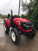 UNUSED ZOOM 604WD TRACTOR, RUNS AND DRIVES *PLUS VAT*