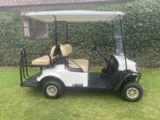 CUSHMAN EZGO 2 + 2 PETROL GOLF BUGGY, NEW JULY 2018, ONLY 106 HOURS FROM NEW, 4 SEATER *PLUS VAT*