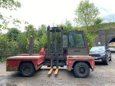 JUMBO SPREADER JU3,500 SIDE LOADER FORKLIFT, YEAR 2002, SHOWING 227 HOURS *PLUS VAT*