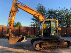2013 HYUNDAI 145 LCR-9 STEEL TRACKED CRAWLER EXCAVATOR / DIGGER, C/W 2 X BUCKETS, RUNS, DRIVES, DIGS