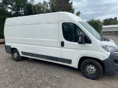 2017/17 REG CITROEN RELAY 35 L3H2 ENTERPRISE BLUE HDI 2.0 PANEL VAN 130HP, SHOWING 0 FORMER KEEPERS