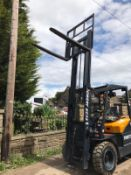 BRAND NEW UNUSED POWERTEC FORKLIFT, RUNS, DRIVES AND LIFTS *PLUS VAT*