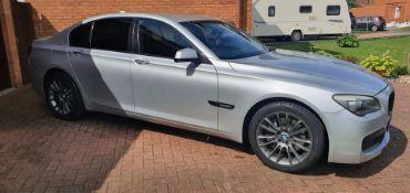 2009/59 REG BMW 730D M SPORT AUTOMATIC 3.0 DIESEL 6 SPEED SILVER 4 DOOR SALOON *NO VAT*