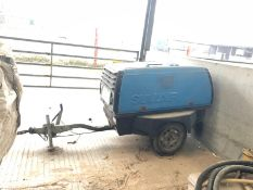 SULLAIR 45 SINGLE AXLE TOWABLE DIESEL COMPRESSOR, 1402 HOURS, RUNS & MAKES AIR *PLUS VAT*