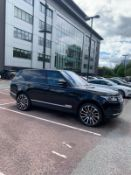 2014/14 REG LAND ROVER RANGE ROVER VOGUE TDV6 AUTOMATIC 3.0 DIESEL, SHOWING 2 FORMER KEEPERS *NO VAT