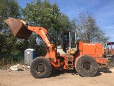 FIAT HITACHI FR130.2 LOADING SHOVEL, RUNS, DRIVES, LIFTS AND DIGS *PLUS VAT*