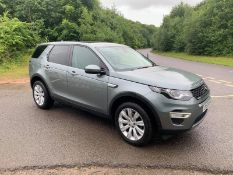 2015/15 REG LAND ROVER DISCOVERY SPORT SD4 HSE LUXURY 2.2 DIESEL AUTOMATIC, SHOWING 2 FORMER KEEPERS