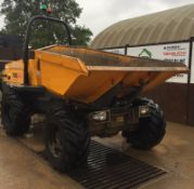 TEREX TA6S SWIVEL DUMPER, MODEL YEAR 2015, MANUFACTURED 2014, PAYLOAD 6000 KG *PLUS VAT*