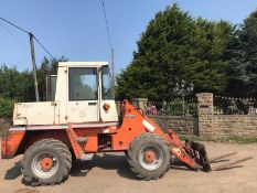 SCHAEFER LOADING SHOVEL, RUNS, DRIVES AND LIFTS *PLUS VAT*
