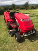 COUNTAX C600H RIDE ON LAWN MOWER, RUNS, DRIVES AND CUTS, 16HP V TWIN *NO VAT*