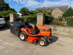 KUBOTA G18 RIDE ON LAWN MOWER, RUNS, WORKS AND CUTS, KUBOTA DIESEL ENGINE, HYDRO-STATIC DRIVE