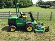 JOHN DEERE 1445 RIDE ON MOWER, UP FRONT ROTARY DECK, YEAR 2012 (REGISTERED IN 2013) EX COUNCIL