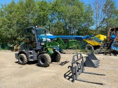BRAND NEW / UNUSED 2020 LOADING SHOVEL, MODEL ZL08F, 4 WHEEL DRIVE, C/W BUCKETS & FORKS *PLUS VAT*