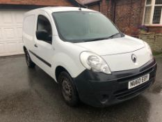 2010/60 REG RENAULT KANGOO ML20 PLUS DCI 70 1.5 DIESEL PANEL VAN, SHOWING 1 FORMER KEEPER *PLUS VAT*