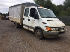 2004/04 REG IVECO DAILY (S2000) 35C12D CRC 3750 WB 2.3 DIESEL, SHOWING 4 FORMER KEEPERS *NO VAT*