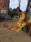 CASCADE FORKLIFT BALE ROTATING GRAB WITH SLEW RING *NO VAT*