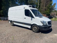 2016/16 REG MERCEDES-BENZ SPRINTER 313 CDI 2.2 DIESEL WHITE INSULATED VAN, SHOWING 0 FORMER KEEPERS