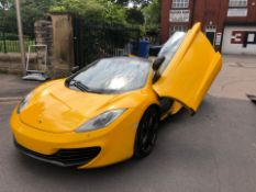 2012 MCLAREN MP4-12C SPIDER, 12,000 MILES LEFT HAND DRIVE SOLD WITH NOVA *NO VAT*