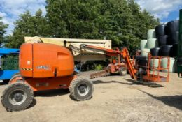 2007 JLG 450AJ SERIES II LIFT, RUNS, DRIVES AND LIFTS, SHOWING 2550 HOURS, 4X4 *PLUS VAT*