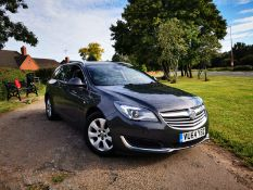2015/64 REG VAUXHALL INSIGNIA TECHLINE CDTI ECO S 2.0 DIESEL GREY ESTATE, SHOWING 1 FORMER KEEPER
