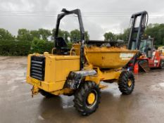 1996 ROAD REGISTERED BARFORD SX5000 SWIVEL SKIP DUMPER, GOOD WORKING ORDER *PLUS VAT*
