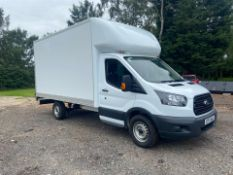 2017/17 REG FORD TRANSIT 350 FWD BOX LUTON VAN WHITE 2.0 DIESEL, SHOWING 0 FORMER KEEPERS *PLUS VAT*