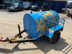 SITE TOW WATER BOWSER *PLUS VAT*