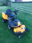 2015 STIGA VILLA 320HST OUTFRONT RIDE ON LAWN MOWER, PIVOT STEERED, RUNS, DRIVES AND CUTS *NO VAT*